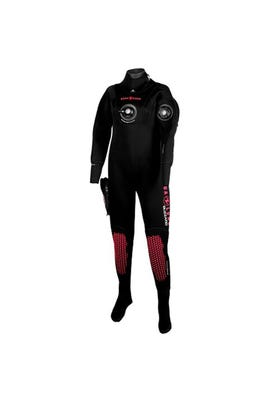 TRAJE BUCEO SECO BLIZZARD MUJER 4MM-COMP