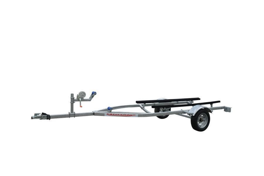 TRAILER BOTE 3.7MTS 1 EJE GALV.  CT0067B